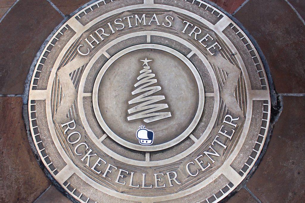 Street art New York City The Hat Kid Rockefeller Center