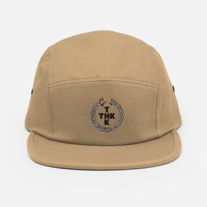 5 panel cap khaki THE HAT KID gorra snapback streetwear