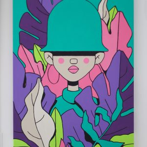 Tropicana by The-Hat-Kid acrylic on canvas